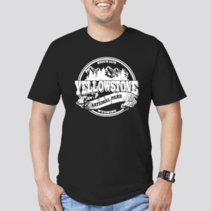 Yellowstone Old Circle Men's Fitted T-Shirt (dark)