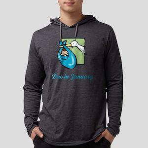 01-jan-boy Mens Hooded Shirt