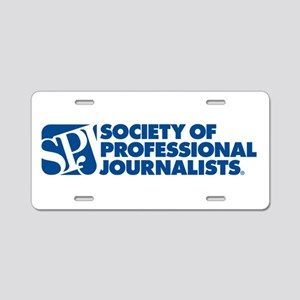 Another Classic SPJ Aluminum License Plate