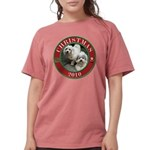 COTONxmas2010 Womens Comfort Colors Shirt