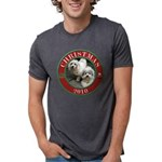 COTONxmas2010.png Mens Tri-blend T-Shirt