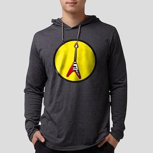 Flying V Mens Hooded Shirt