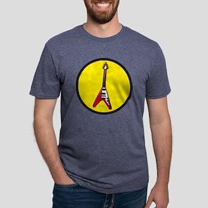 Flying V Mens Tri-blend T-Shirt