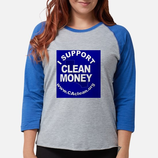 Button_Support2Blue.png Womens Baseball Tee