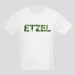 Etzel, Vintage Camo, Kids Light T-Shirt