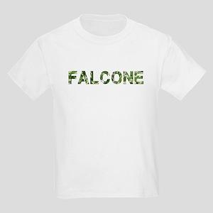 Falcone, Vintage Camo, Kids Light T-Shirt