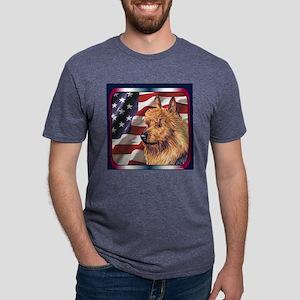 4AT01Tile Mens Tri-blend T-Shirt