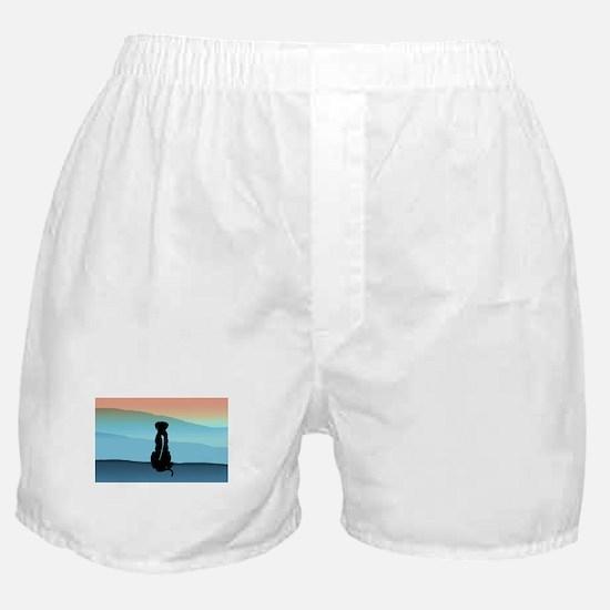Blue Mt Ridgeback Boxer Shorts