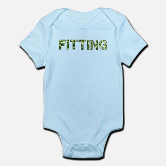 Fitting, Vintage Camo, Infant Bodysuit