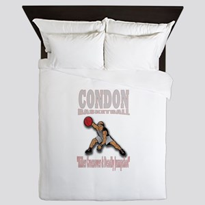 CONDON BASKETBALL / Baller Queen Duvet