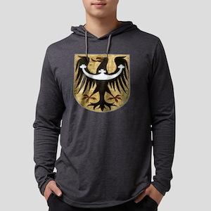 bird crest Mens Hooded Shirt