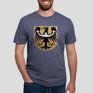 bird crest Mens Tri-blend T-Shirt