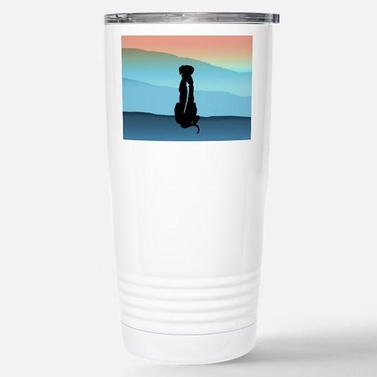 Blue Mt Ridgeback Stainless Steel Travel Mug