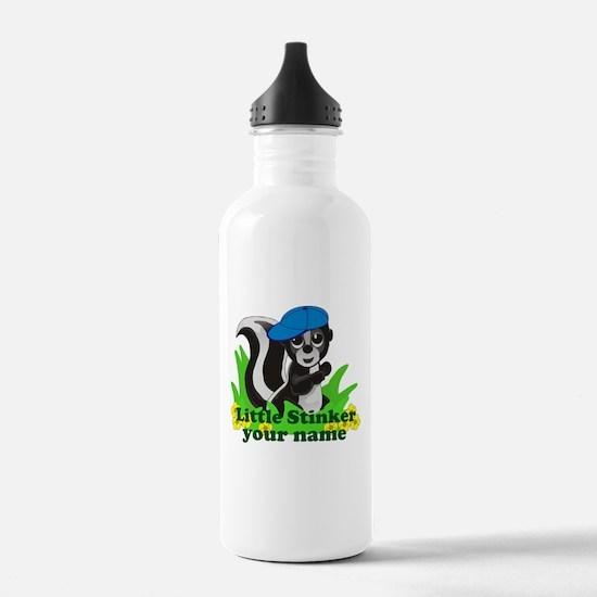 Personalized Little Stinker (Boy) Water Bottle