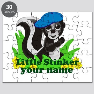 Personalized Little Stinker (Boy) Puzzle