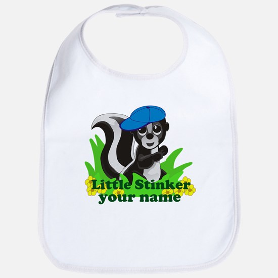Personalized Little Stinker (Boy) Bib