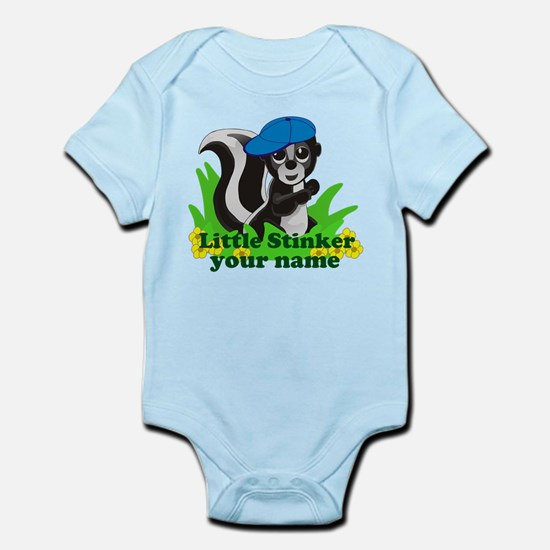 Personalized Little Stinker (Boy) Infant Bodysuit