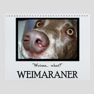 Weimaraner Wall Calendar