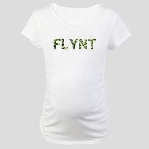Flynt, Vintage Camo, Maternity T-Shirt