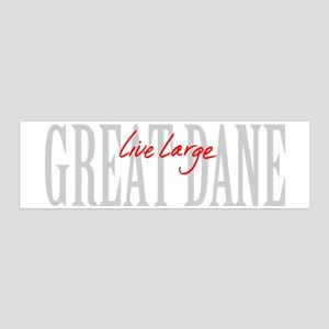 Great Dane Live Large 20x6 Wall Decal