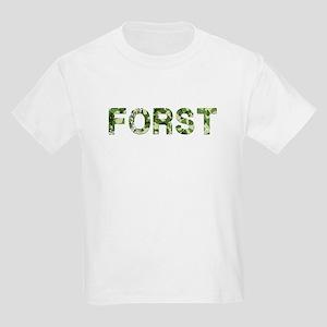 Forst, Vintage Camo, Kids Light T-Shirt