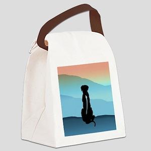 Blue Mt Ridgeback Canvas Lunch Bag