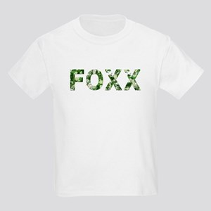 Foxx, Vintage Camo, Kids Light T-Shirt