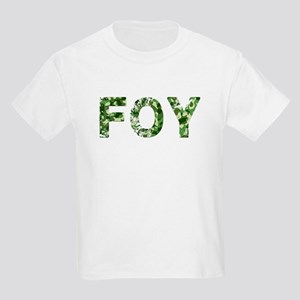 Foy, Vintage Camo, Kids Light T-Shirt