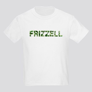 Frizzell, Vintage Camo, Kids Light T-Shirt