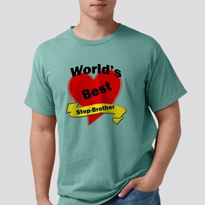 Worlds Best Step-Brother Mens Comfort Colors Shirt