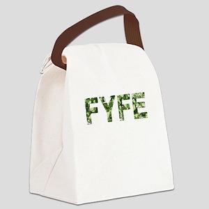 Fyfe, Vintage Camo, Canvas Lunch Bag