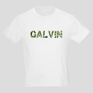 Galvin, Vintage Camo, Kids Light T-Shirt