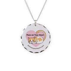 Paws On Your Heart Necklace