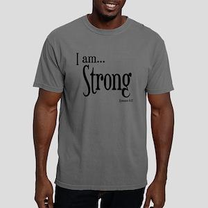 I am Strong Romans 8:37 Mens Comfort Colors Shirt
