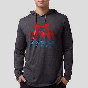 fire island bike Mens Hooded Shirt