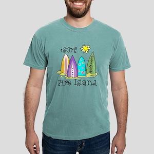fire island surfing Mens Comfort Colors Shirt