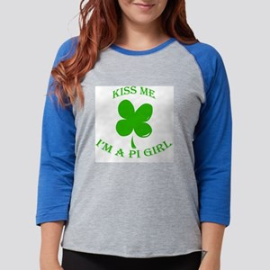 Kiss Me Girls Womens Baseball Tee