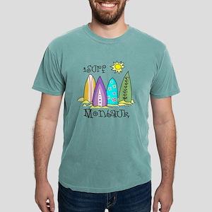 montauk surfing Mens Comfort Colors Shirt