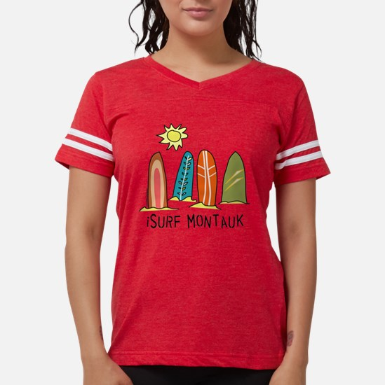 surf montauk Womens Football Shirt