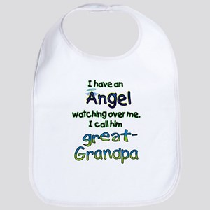 ANGEL GREAT GRANDPA Bib
