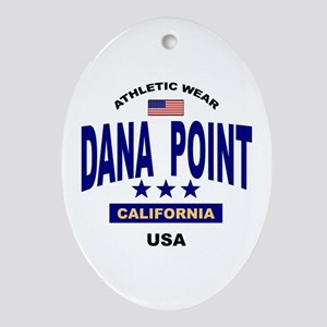 Dana Point Oval Ornament