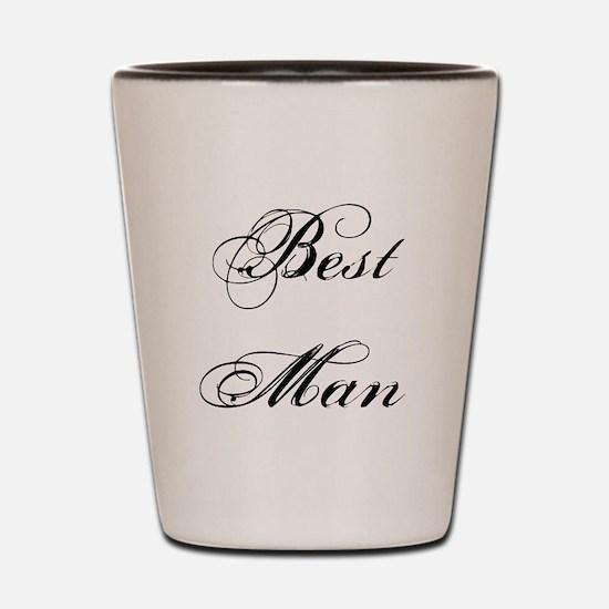 Best Man Shot Glass