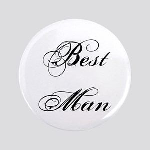 "Best Man 3.5"" Button"