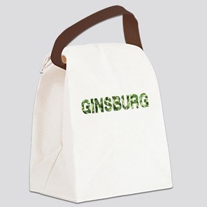 Ginsburg, Vintage Camo, Canvas Lunch Bag