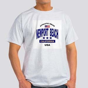 Newport Beach Ash Grey T-Shirt