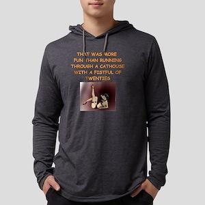 fun Mens Hooded Shirt