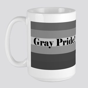 """Gray Pride"" Large Mug"