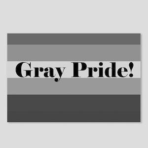 """Gray Pride"" Postcards (Package of 8)"