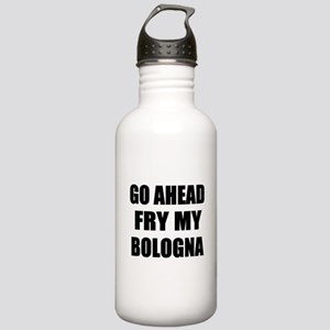Fry My Bologna Stainless Water Bottle 1.0L