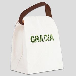 Gracia, Vintage Camo, Canvas Lunch Bag